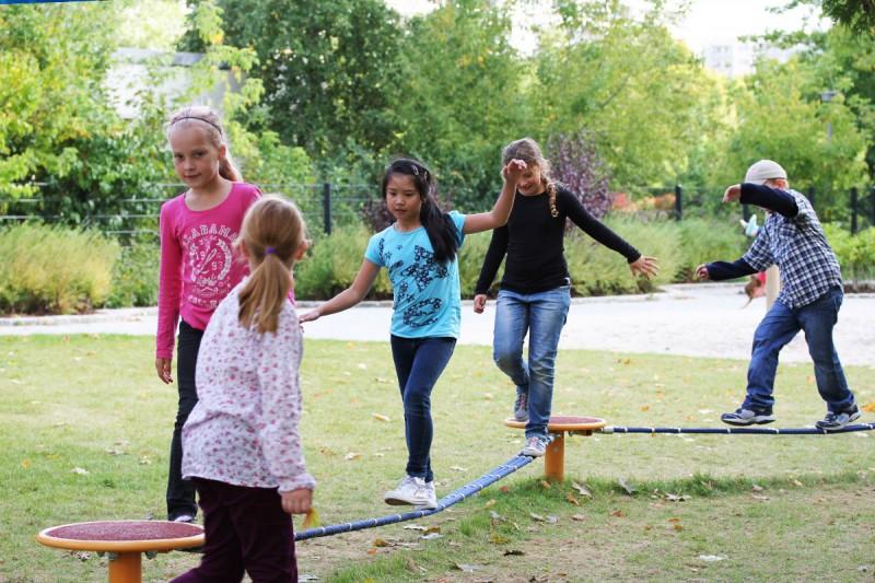Urządzenia linowe na plac zabaw BALANCE