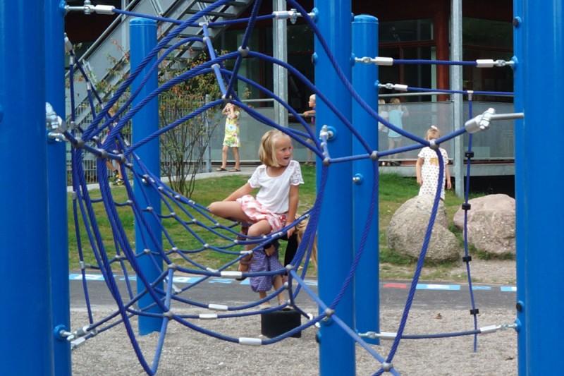 Urządzenia linowe na plac zabaw ADVENTURE