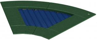 Trampolina 60 - element służący do budowy modułów