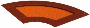 Trampolina 90 - element służący do budowy modułów zdjęcie