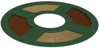 Trampolina Circle 90